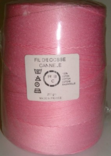Yeoman Cannele Corded Mercerised Cotton 4ply Sugar Y196.036